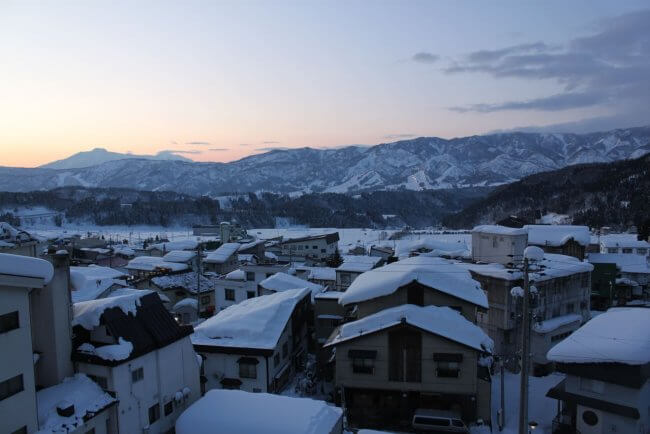 Togari Onsen Ski Resort – Over the valley from Nozawa Onsen