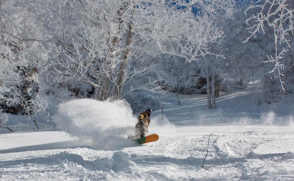 Later Season Nozawa Onsen Ski Japan