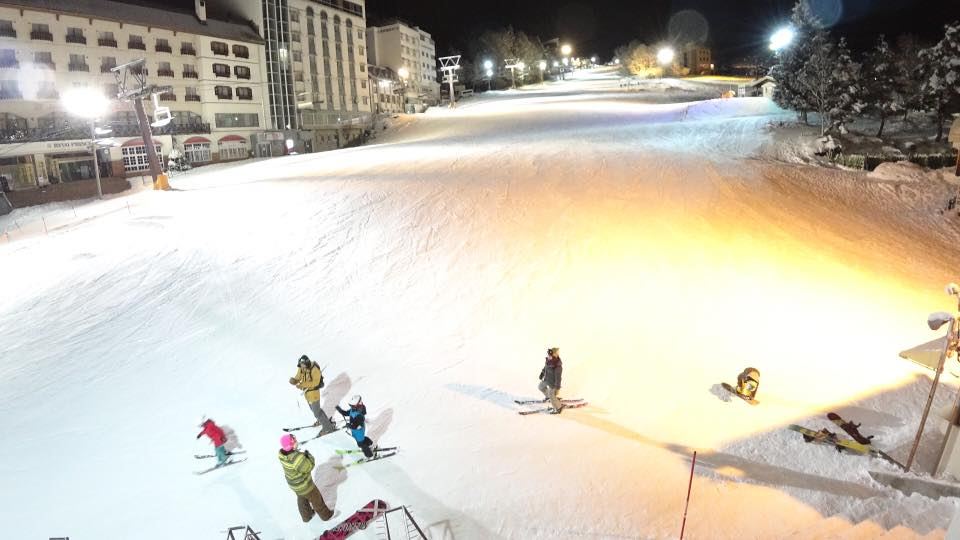 Ryuoo Ski Park near Nozawa Onsen