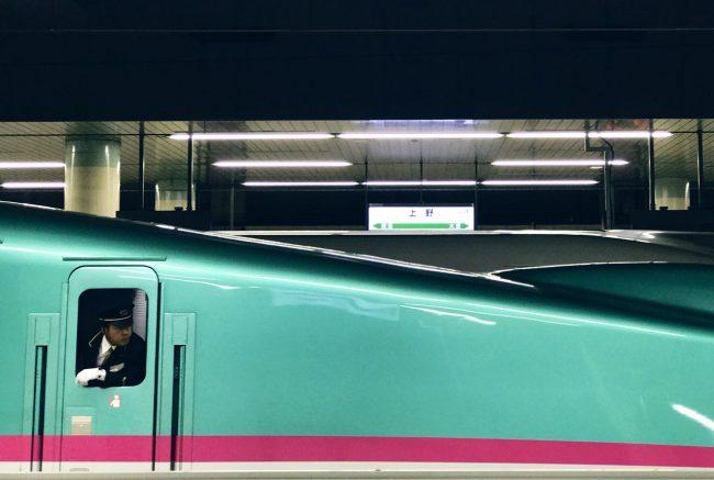 Train to Nozawa Onsen