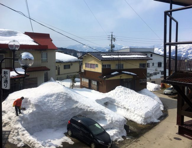 Nozawa Onsen Snow Update Sunday 11th of March 2018