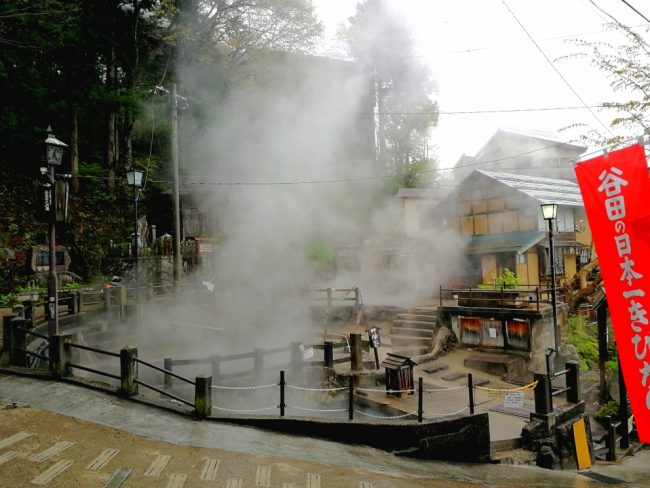 Nozawa Onsen on a Rainy Day