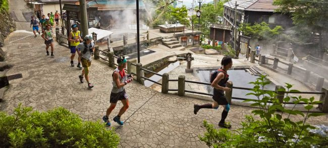 Running Hiking Nozawa Onsen Japan
