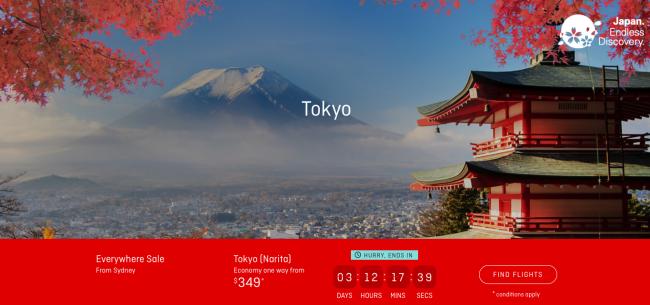 Qantas Sale Ski Japan