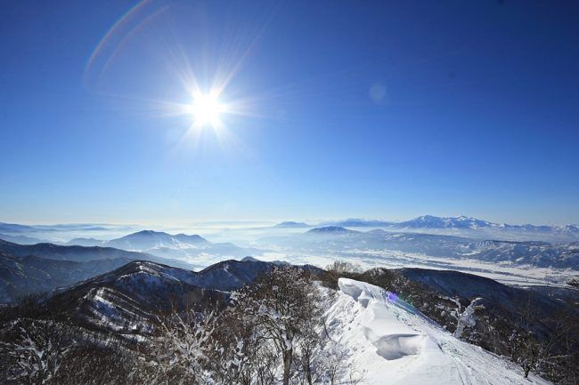 Back Country Touring Nozawa Onsen Japan