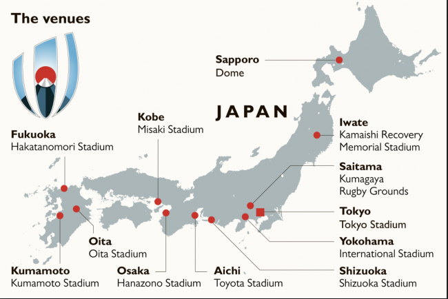 Rugby World Cup Japan 2019 Accommodation