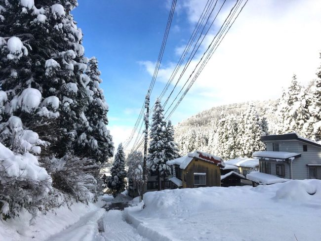 Nozawa Onsen First Day of the Season