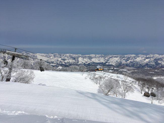 Nozawa Onsen Spring Snow