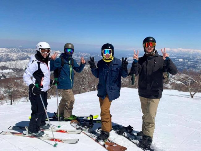 60s+ Seniors Ski Nozawa onsen with friends