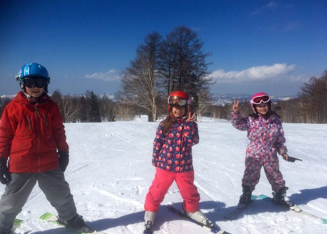 Skiing Japan with Kids