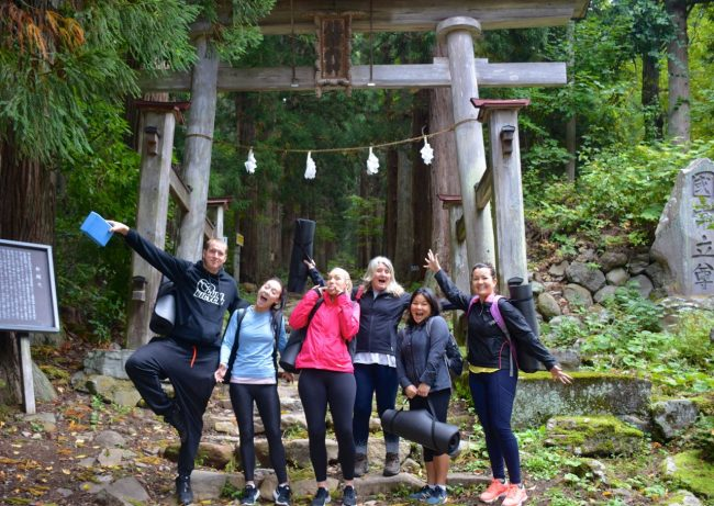 Yoga Retreat Japan