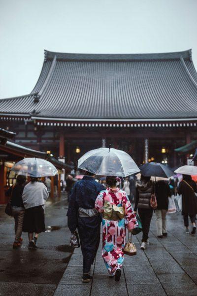 Rainy Season Nozawa Onsen Japan