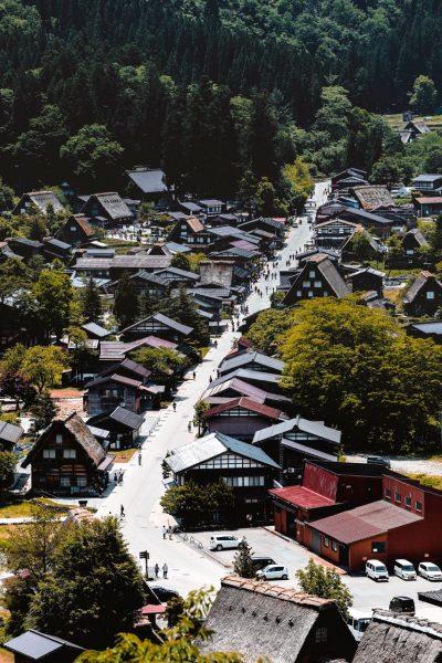 Shirakawago Magic Village Japan