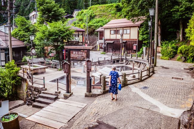 Nozawa Onse Japan Old Town Hot Springs