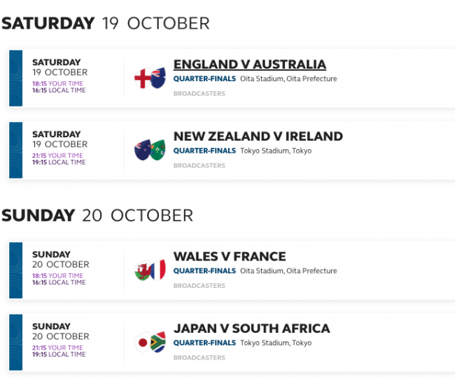 Rugby World Cup Japan