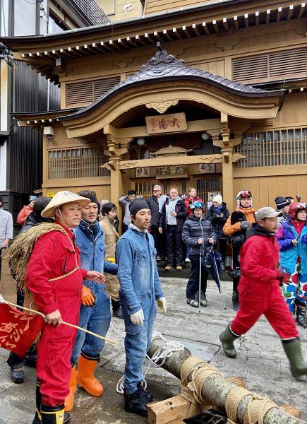 Tradition continues Nozawa Onsen