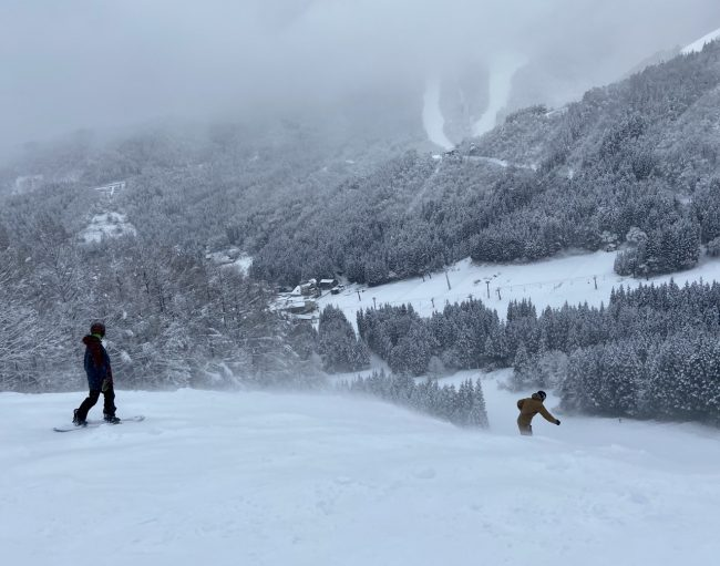 February Snow Nozawa Onsen