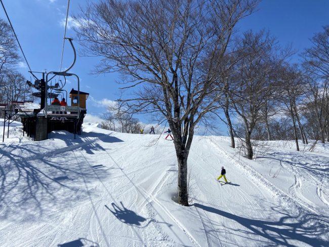 Spring Skiing Japan