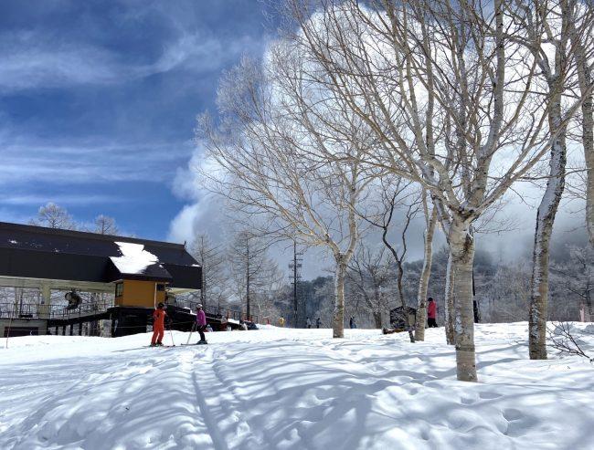 March Skiing Nozawa Onsen