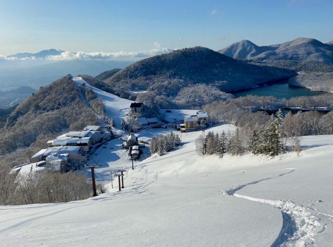 Snow Fall April Japan