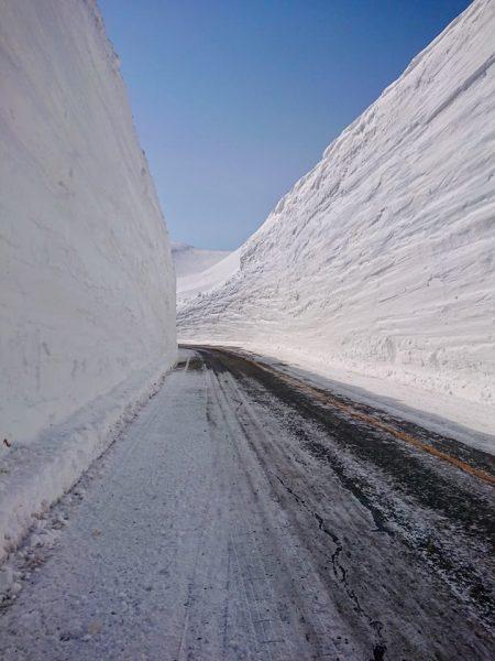 Walls of Snow Japan