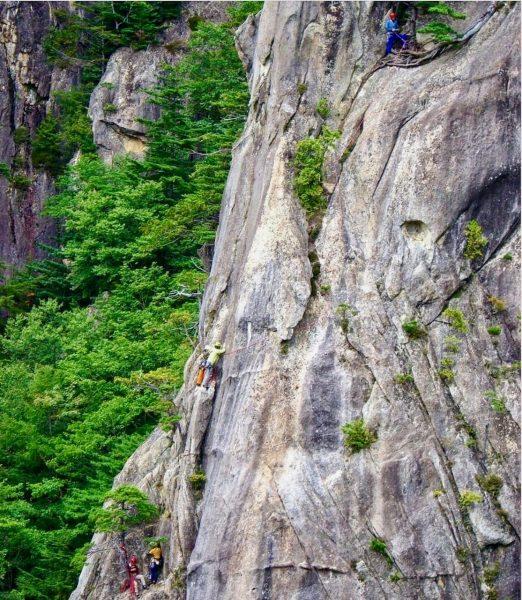 Rock Climbing Nagano Japan