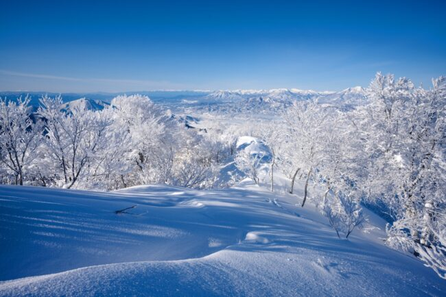 Early Snow Nozawa Japan