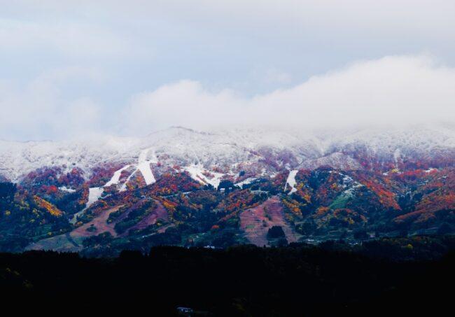 First Snow Nozawa Village