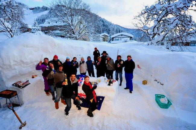 Australians Ski Resorts Japan