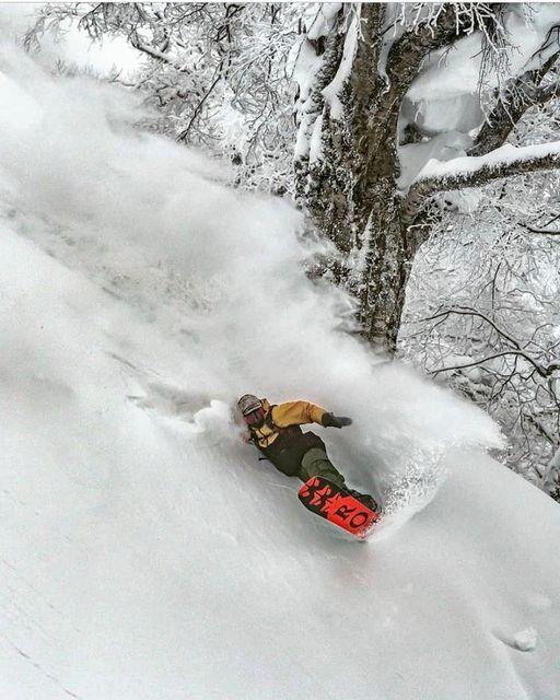 How deep snow Nozawa Onsen