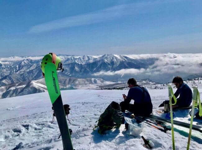 Spring Ski Touring Nozawa Japan