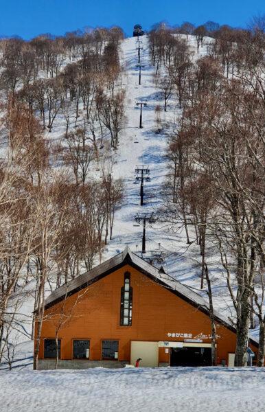 May Skiing Nozawa Japan