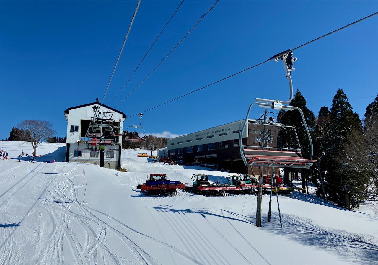 Ski Lifts Green Season Japan