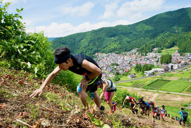 Trail Running Event Japan
