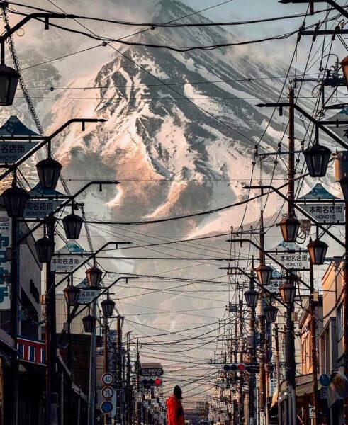 Mountain Day Nozawa Japan